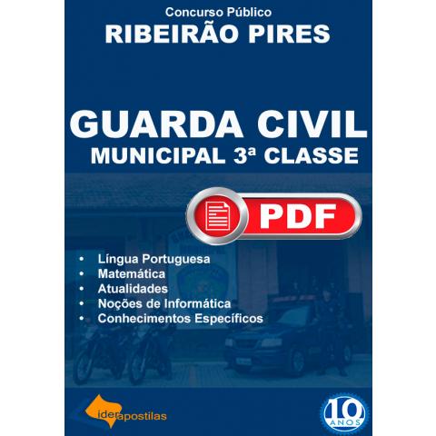 Apostila Guarda Municipal Ribeirão Pires