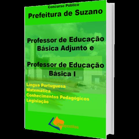 Apostila Professor Suzano - Educação Básica e Adjunto 2018