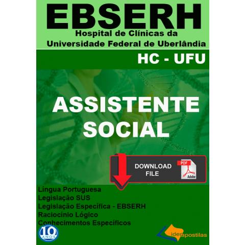 Apostila Assistente Social Ebserh 2019