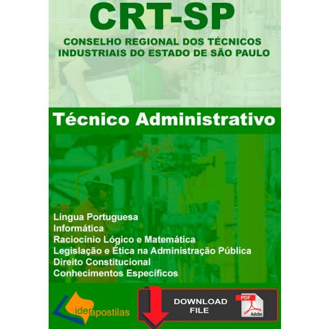 Apostila Tecnico Administrativo CRTSP