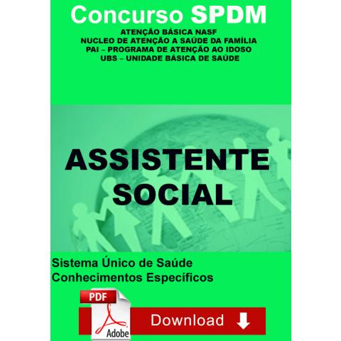 Assistente Social Nasf SPDM