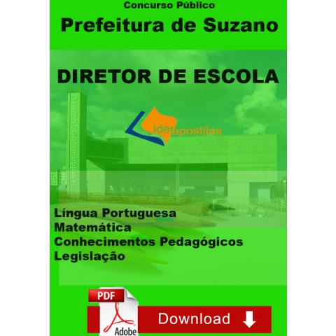 Apostila Concurso Diretor Escola Suzano Download