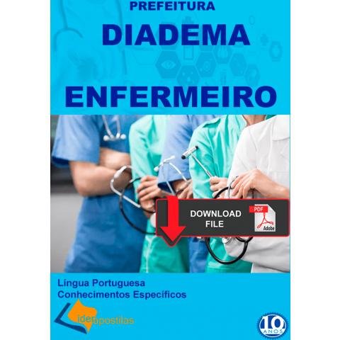 Enfermeiro Diadema  concurso