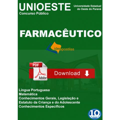 Farmaceutico Unioeste Paraná
