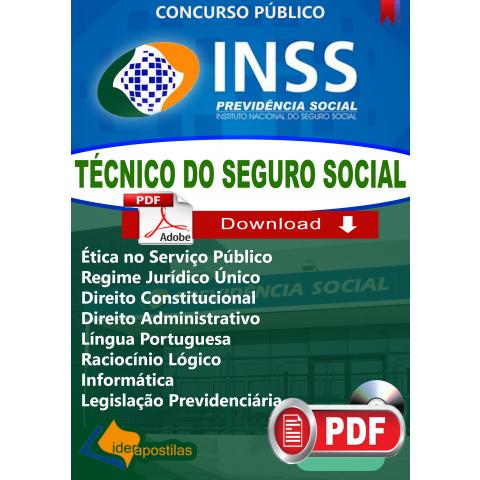 Apostila Técnico Inss 2018 digital