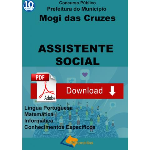 Apostila Assistente Social Mogi Cruzes