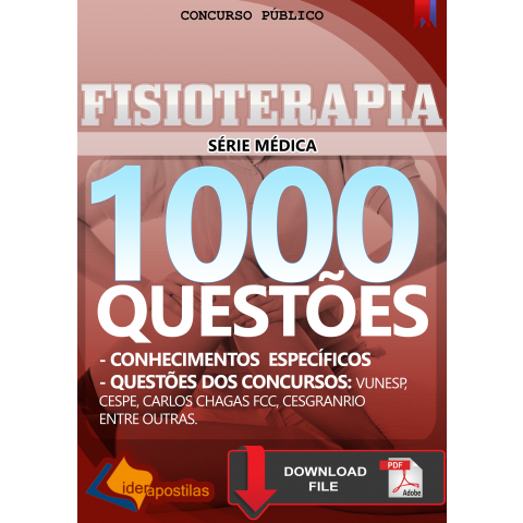 Fisioterapeuta 1000 questões Download