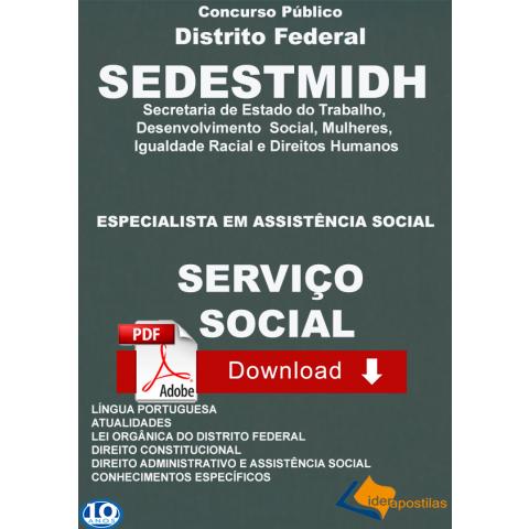 Apostila Serviço social Distrito Federal