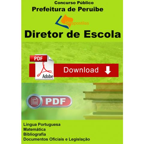 Apostila Diretor Escola Peruibe