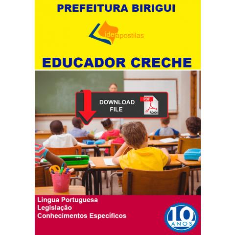 Educador Creche Birigui