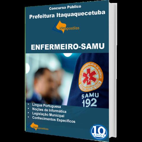 Apostila Enfermeiro Samu Itaquaquecetuba