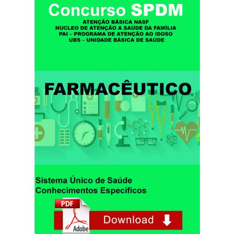 Apostila Farmacêutico SPDM Atenção Básica