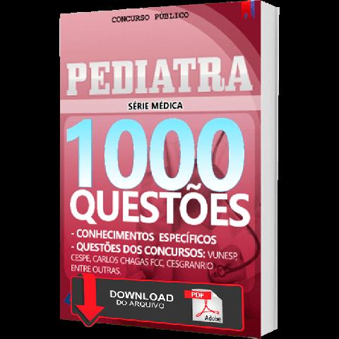 Apostila Pediatria para Concursos Públicos Questões PDF