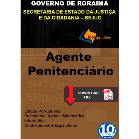 Apostila Agente Penitenciário Roraima 2020