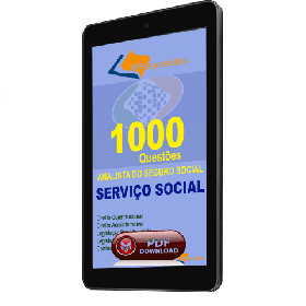 Apostila Digital 1000 Questões Analista do Serviço Social - INSS 2019