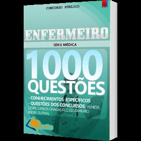 Apostila Enfermeiro - 1000 Questões para Concursos Públicos