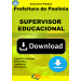Apostila Supervisor Educacional Paulinia Download