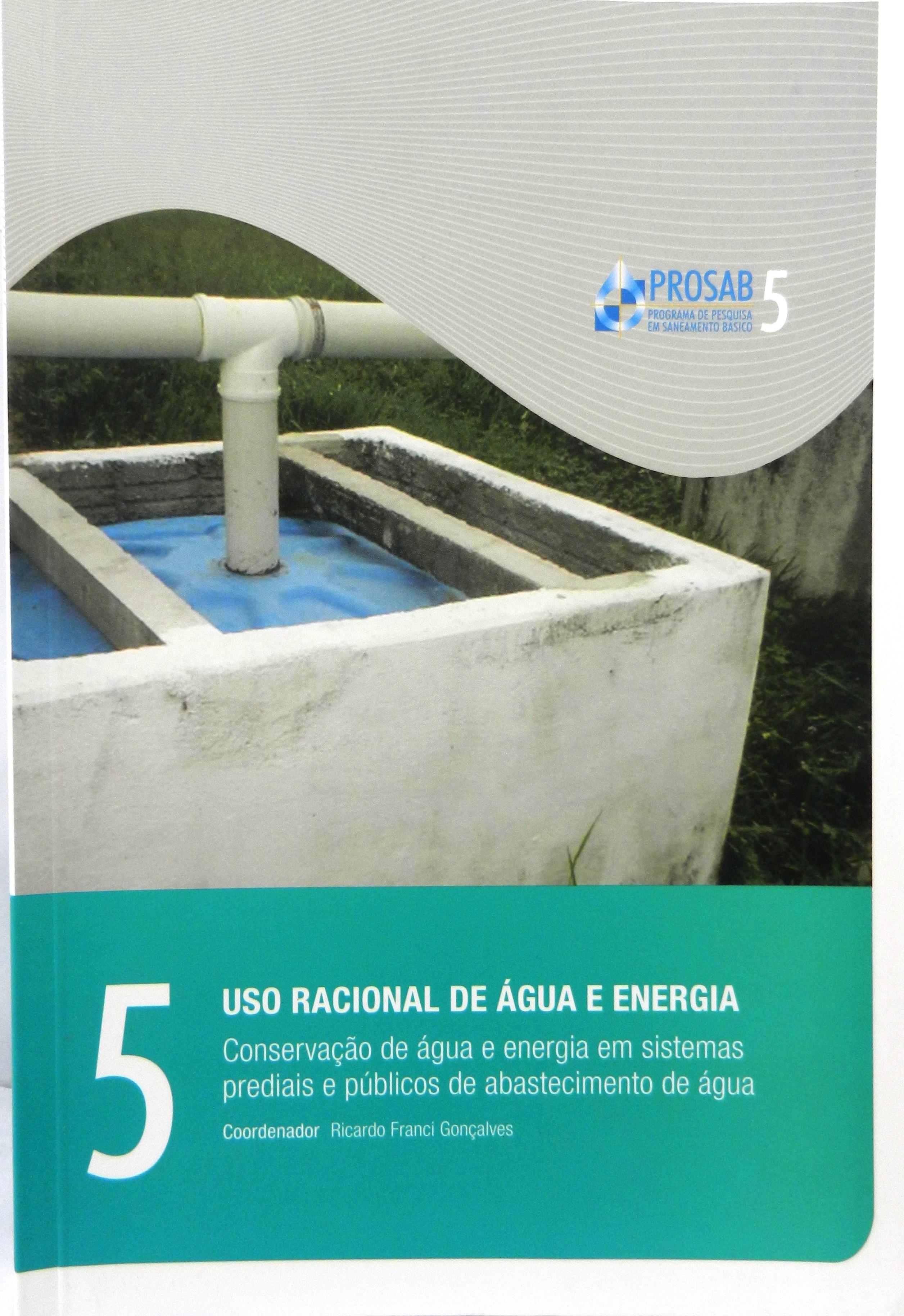 Conserv. Água e Energia Sist. Prediais e Públicos Abast. Água