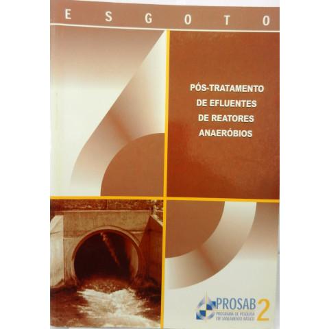 Pós-tratamento de efluentes de reatores anae.