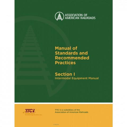 AAR Section I - Intermodal Equipment Manual, Edition 2018