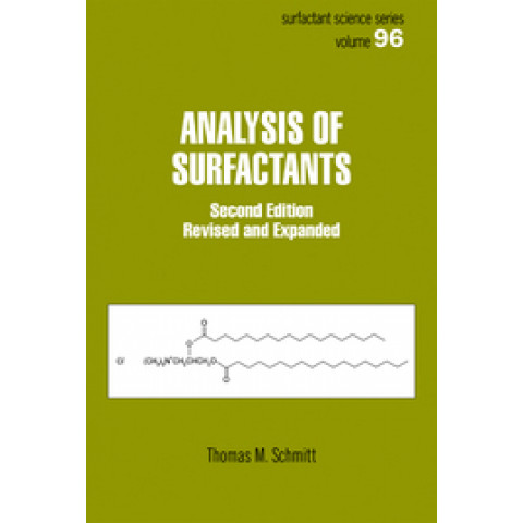 Analysis of Surfactants, Second Edition