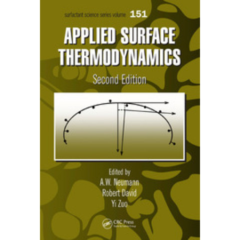 Applied Surface Thermodynamics, 2nd Edition 2010
