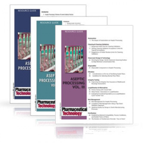 Aseptic Processing – 3 Volumes