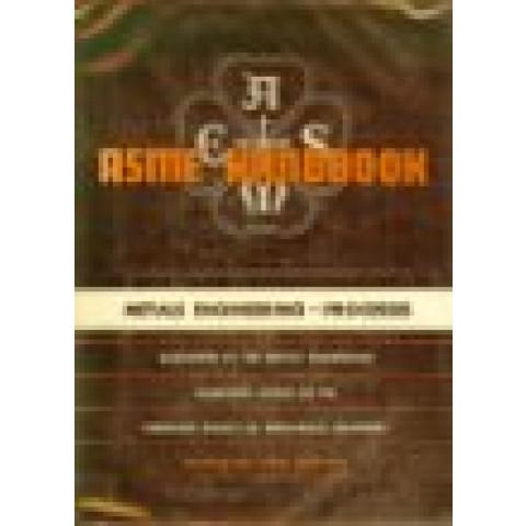 ASME Handbook: Metals Engineering Processes