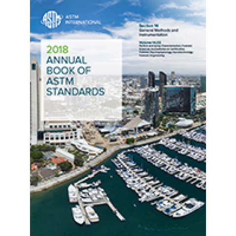 ASTM Volume 05.03: March 2019 Petroleum Products and Lubricants III; D6138 - D6971, Print