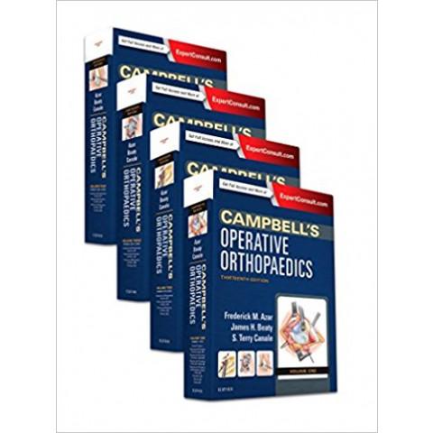 Campbell's Operative Orthopaedics, 4-Volume Set, 13th Edition