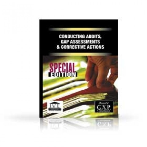Conducting Audits, GAP Assessments & Corrective Actions