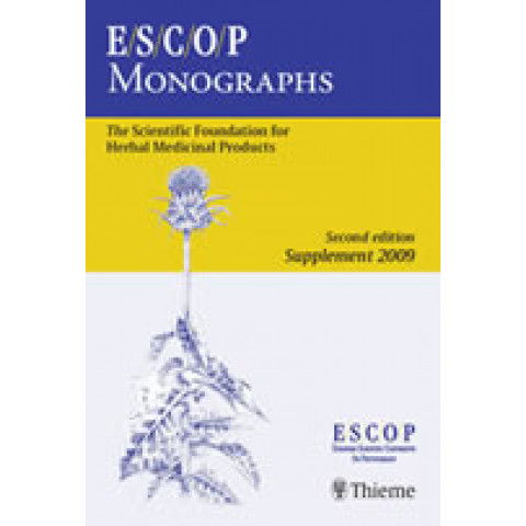 ESCOP MONOGRAPHS: The Scientific Foundation for Herbal Medicinal Products