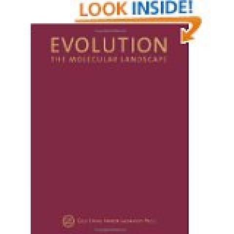 Evolution The Molecular Landscape (Cold Spring Harbor Symposia on Quantitative Biology)