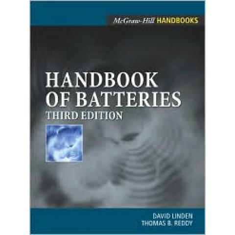 Handbook of Batteries, 3rd Edition