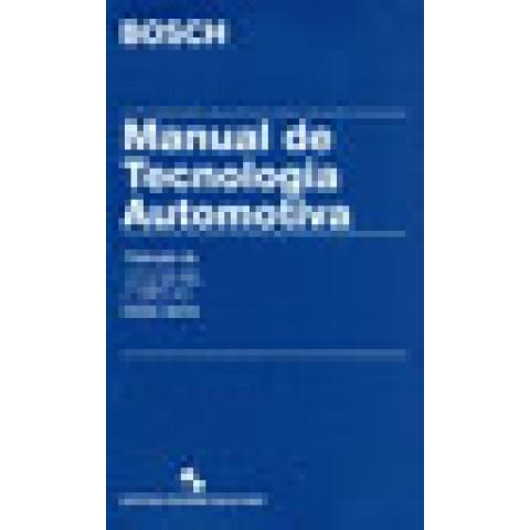 Manual de Tecnologia Automotiva - Tradução da 25ª Edição Alemã