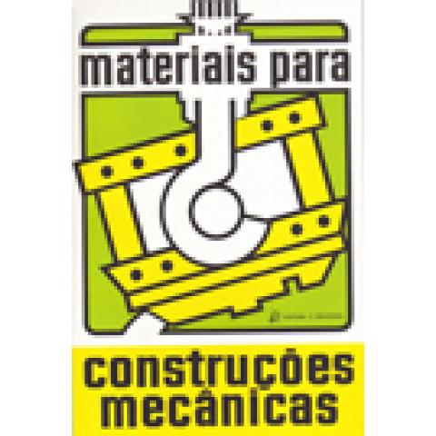 Materiais para Construções Mecânicas