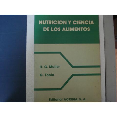 Nutricion y Ciencia de los Alimentos