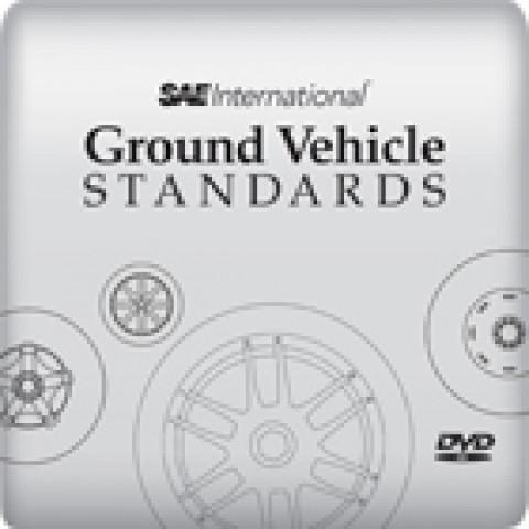 SAE Ground Vehicle Standards on DVD, Edition 2012
