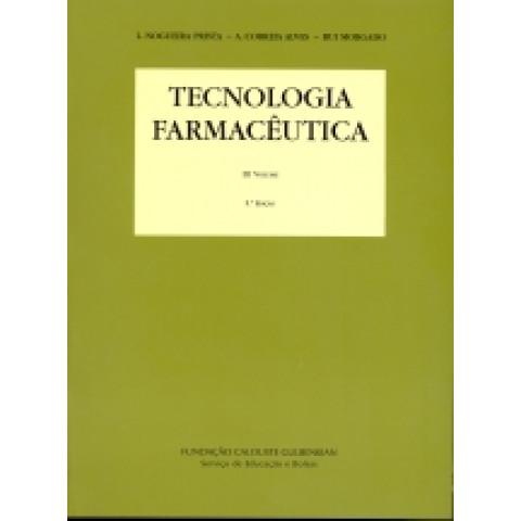 Tecnologia Farmacêutica, Prista, Volume 3