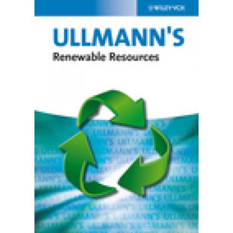 Ullmann's Renewable Resources