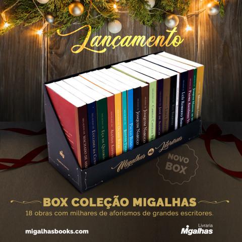 Box Coleção Migalhas Literárias