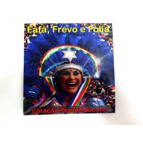 CD Fafá, Frevo e Folia - Coração Pernambucano