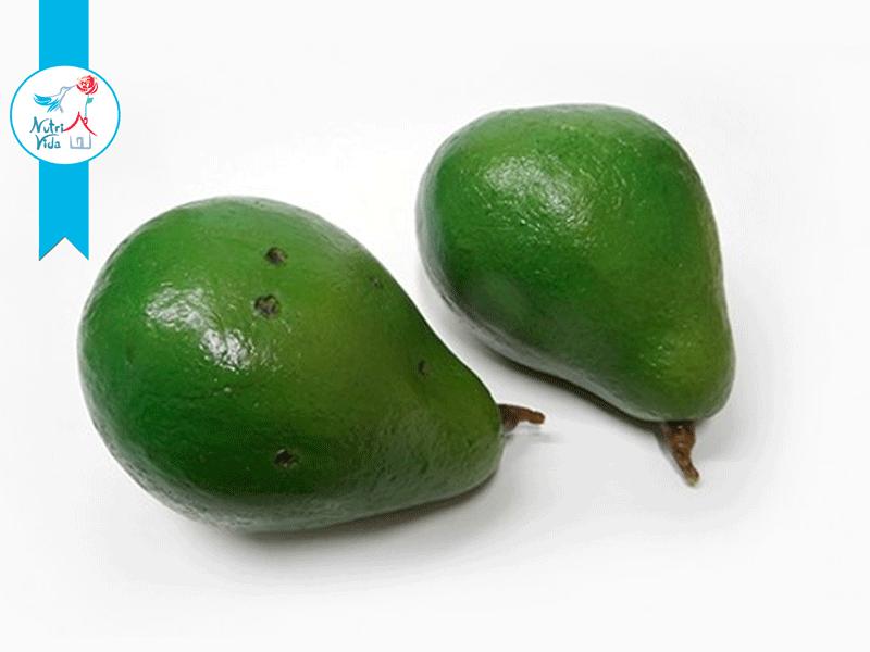 Abacate pedaço