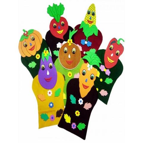 Fantoches em EVA Legumes