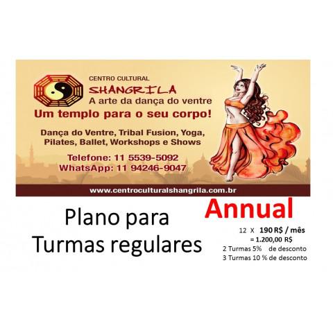 Turma regular na Shangrila - Annual