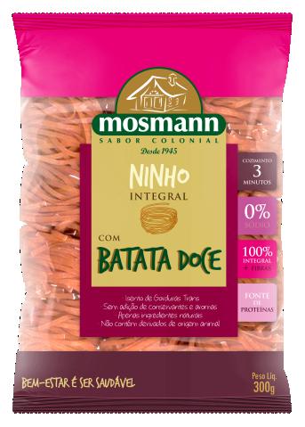 Massa Ninho Integral com Batata Doce 300g