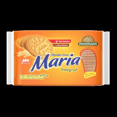 BISCOITO MARIA INTEGRAL SEM LACTOSE 400G