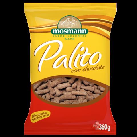 PALITO GLACEADO COM CHOCOLATE 360g