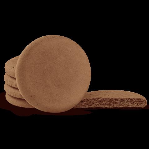 Biscoito para Alfajor sabor Chocolate