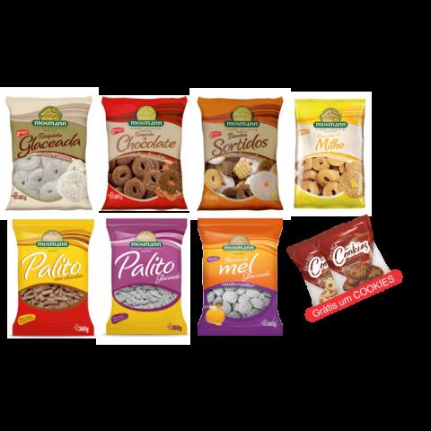 Kit Biscoitos Doces